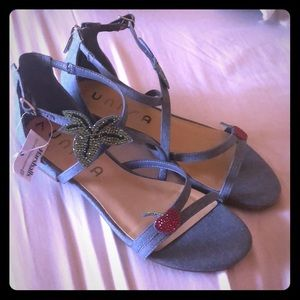 Cherry sandals
